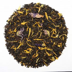 Grøn og sort kvæde te fra Chaplon Tea - 100 tebreve
