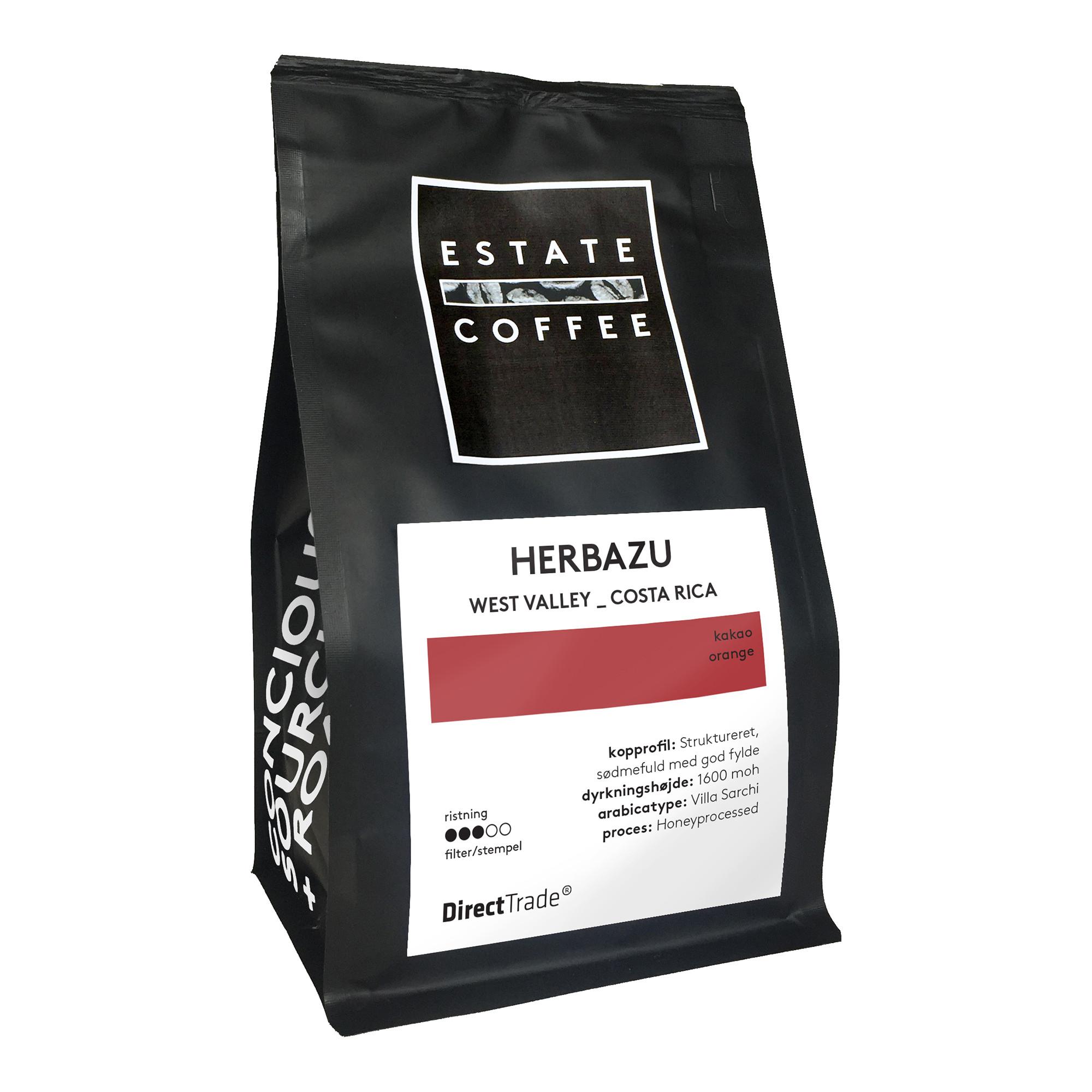 Estate Coffee kaffebønner fra NORU