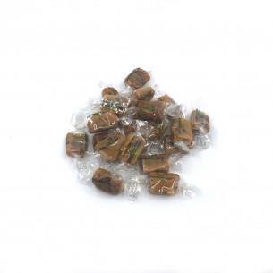 Lakritsfabrikken - Hindbær Lakridskaramel bulk - 1 kg