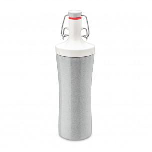 Plopp To Go Drikkeflaske, grå - 425 ml fra Koziol