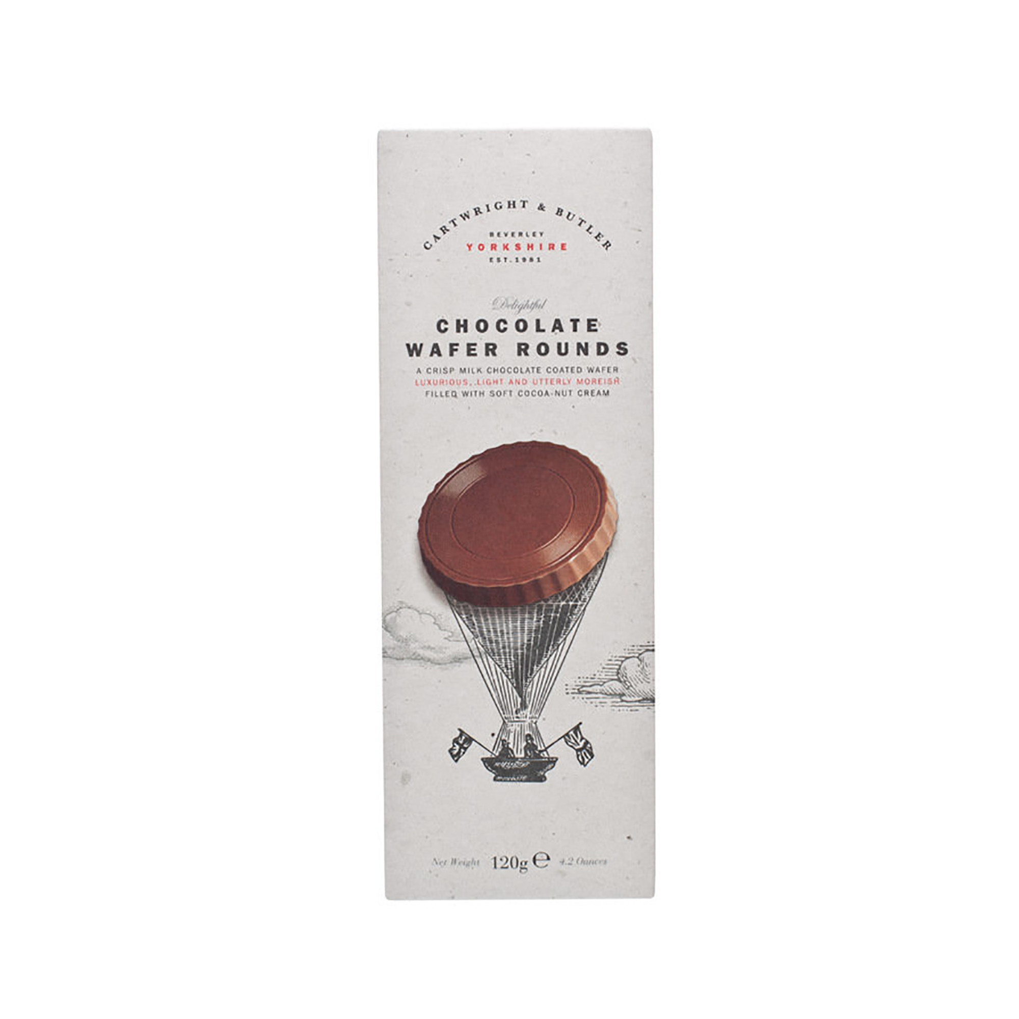 Image of   Chocolate Wafer Rounds - 120 gram