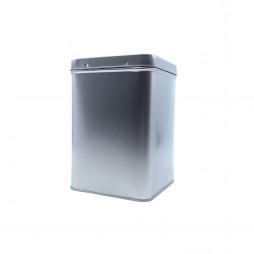 Sølvdåse firkantet, 500 gram