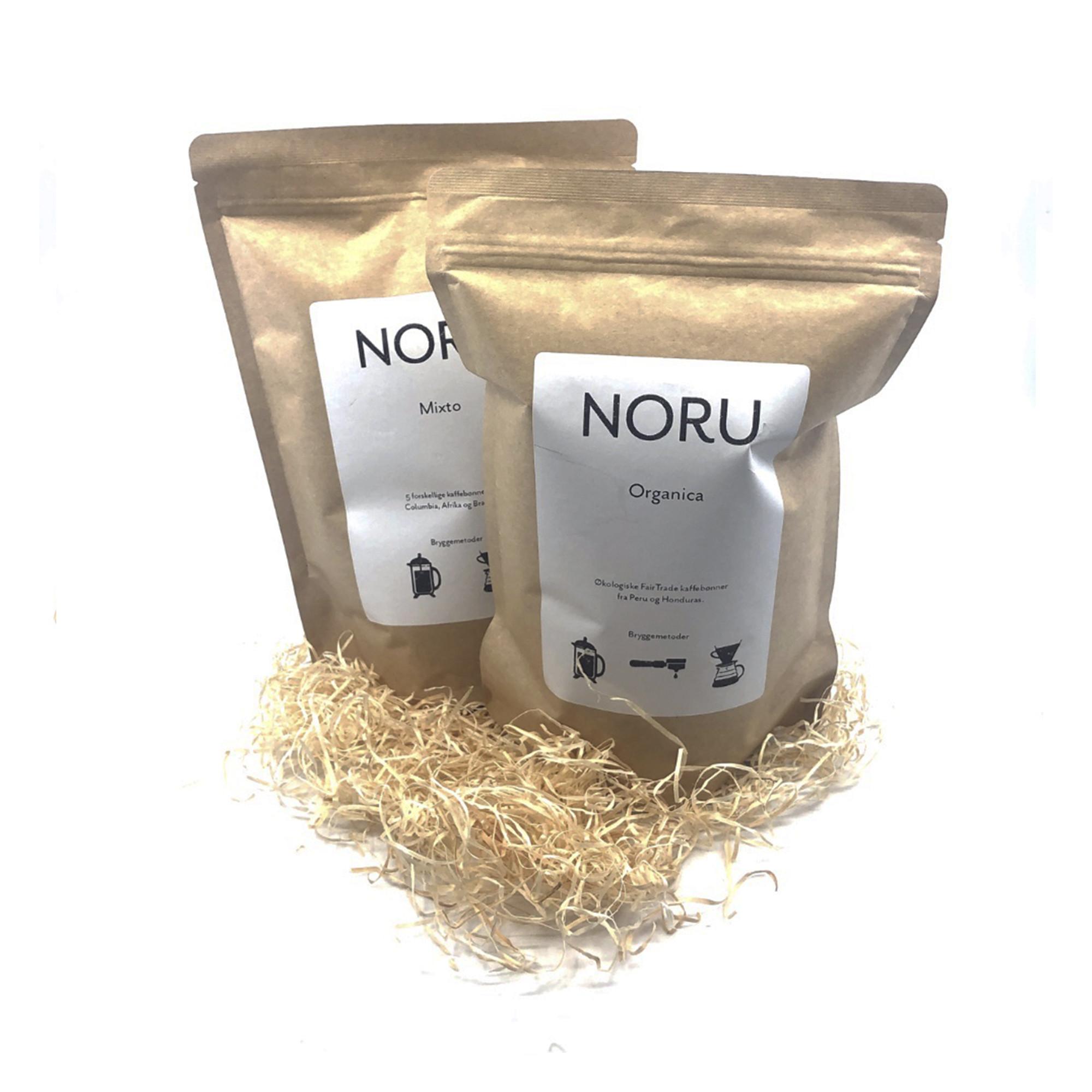 Image of   1 kg NORU kaffebønner