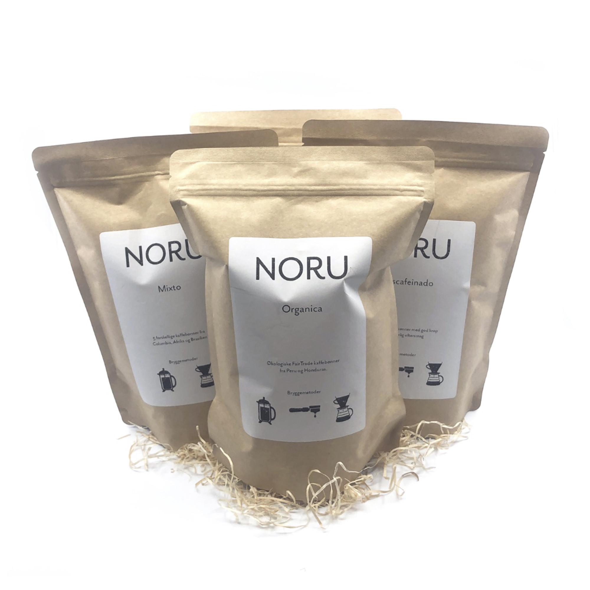 NORU kaffebønner fra NORU