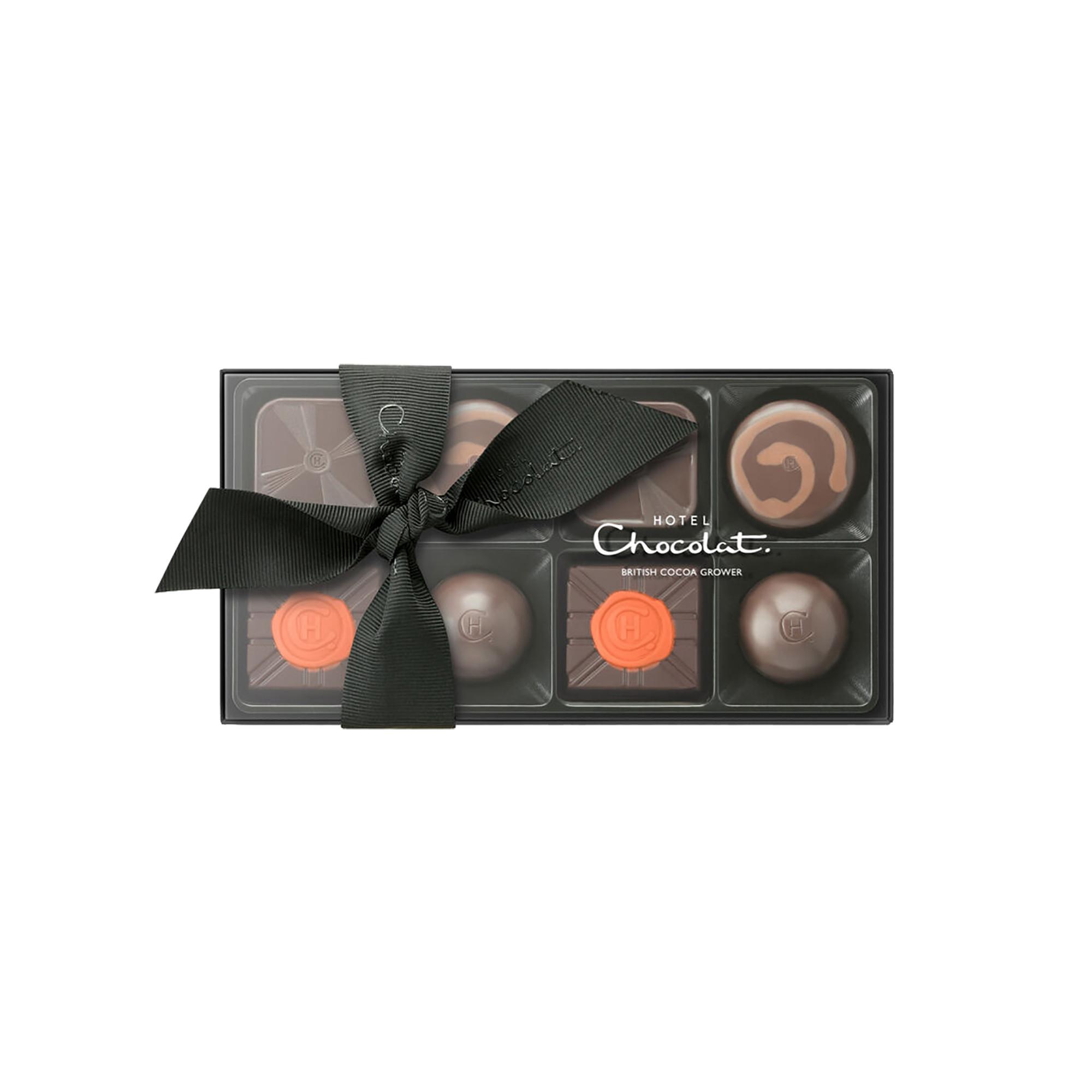 Image of   8 mørke chokolader - 100 gram