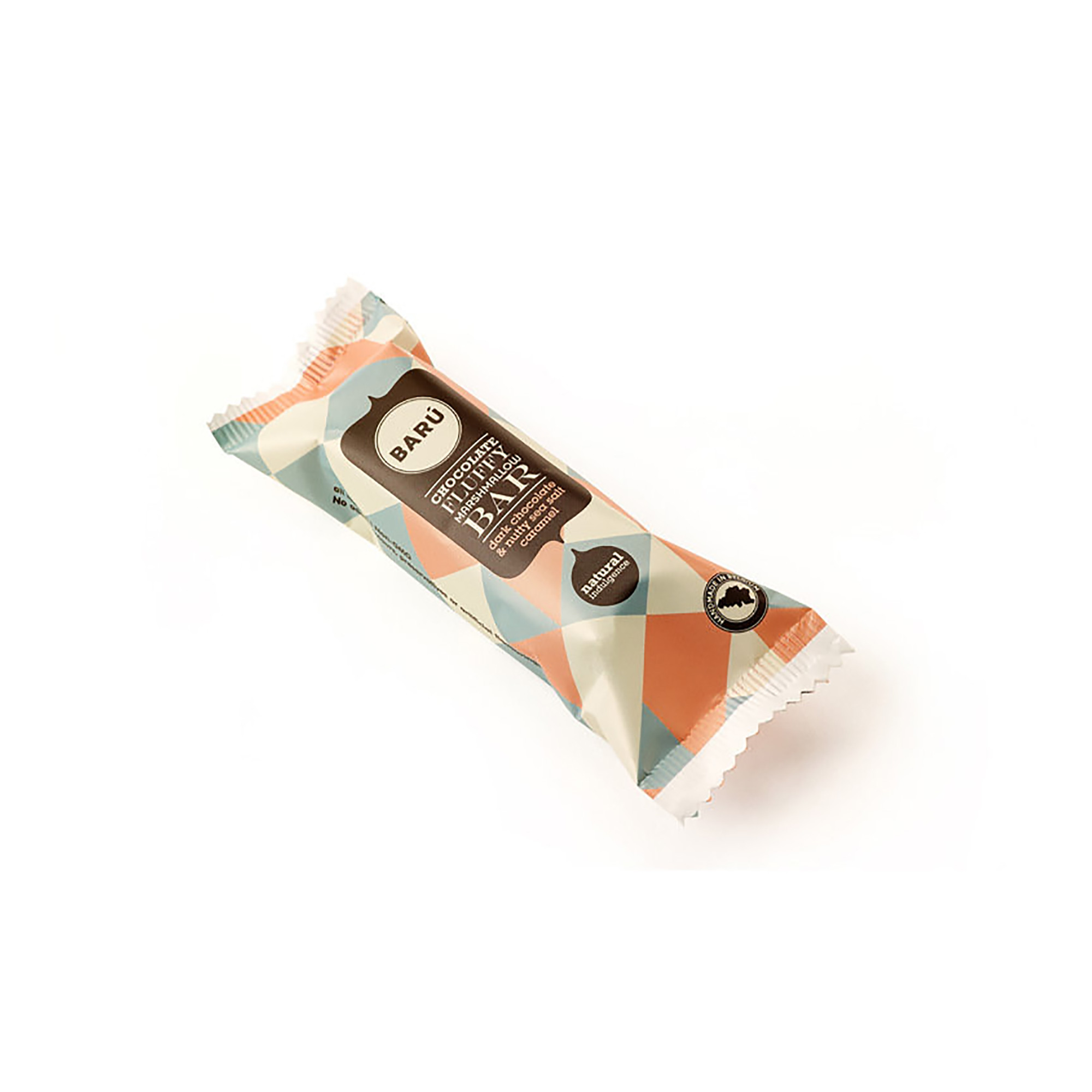 Image of Dark Chocolate & Nutty Seasalt Caramel Bar - 30 gram
