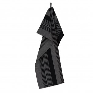 PLINT Viskestykke Stripe, almost black