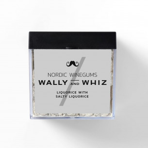 Lakrids & Saltlakrids Vingummi fra Wally and Whiz, 140 gram