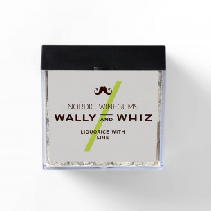 Lakrids & Lime Vingummi fra Wally and Whiz, 140 gram