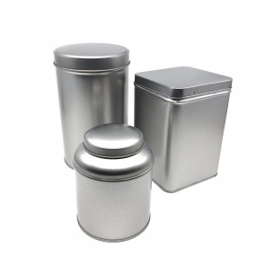 3 sølvdåser fra NORU