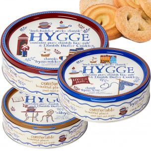 Hygge Småkagedåse fra Jacobsens Bakery -  340 gram