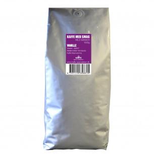 1 kg Kaffebønner med Vanilje smag fra Kaffe Specialisten