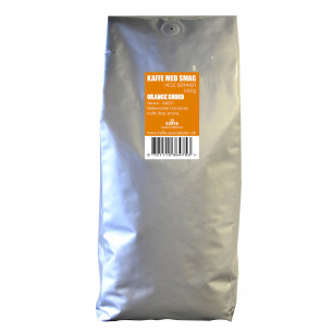1 kg Kaffebønner med Choko Orange smag fra Kaffe Specialisten
