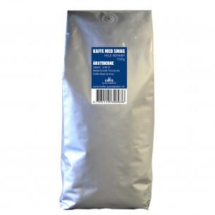 1 kg Kaffebønner med Årstiderne smag fra Kaffe Specialisten