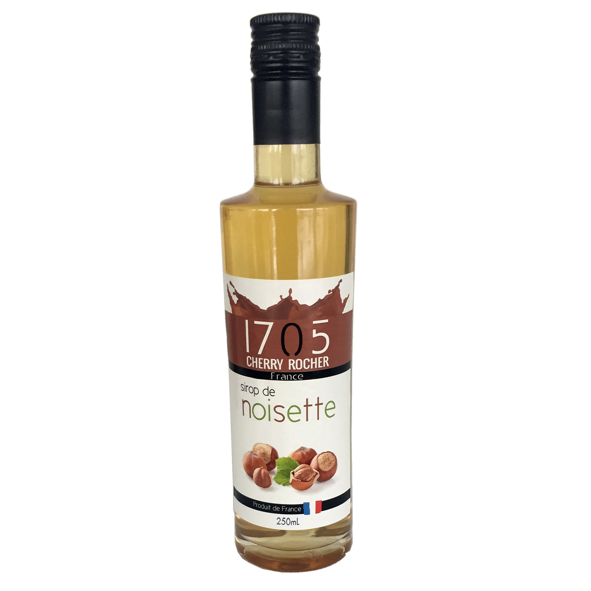 Image of   1705 Hasselnød Sirup - 250 ml