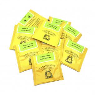 Prinsesse Tatianas Hvide te, 10 tebreve fra Carstensens Tehandel