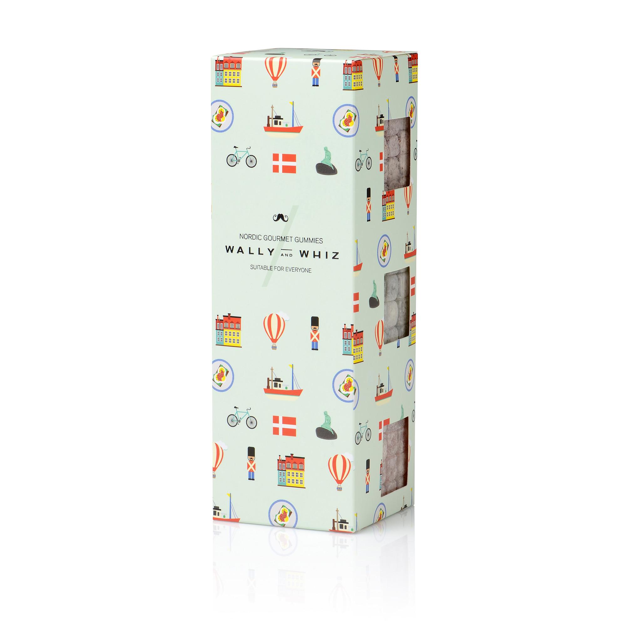Image of   Danmark Box Vingummi - 420 gram