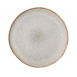 Bloomingville Sandrine Stor Middagstallerken, grå
