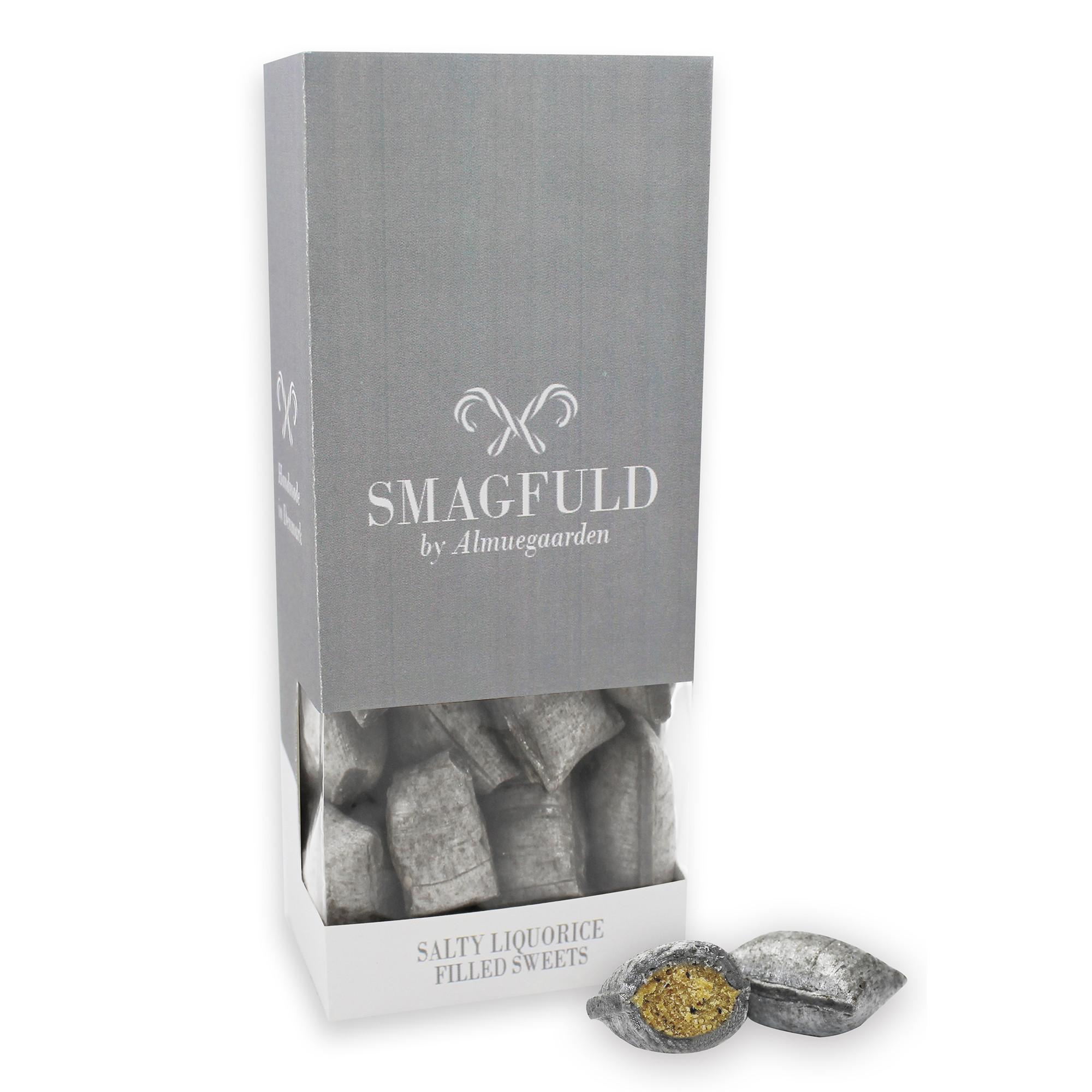 Image of Smagfuld Bolcher, salt lakrids - 110 gram