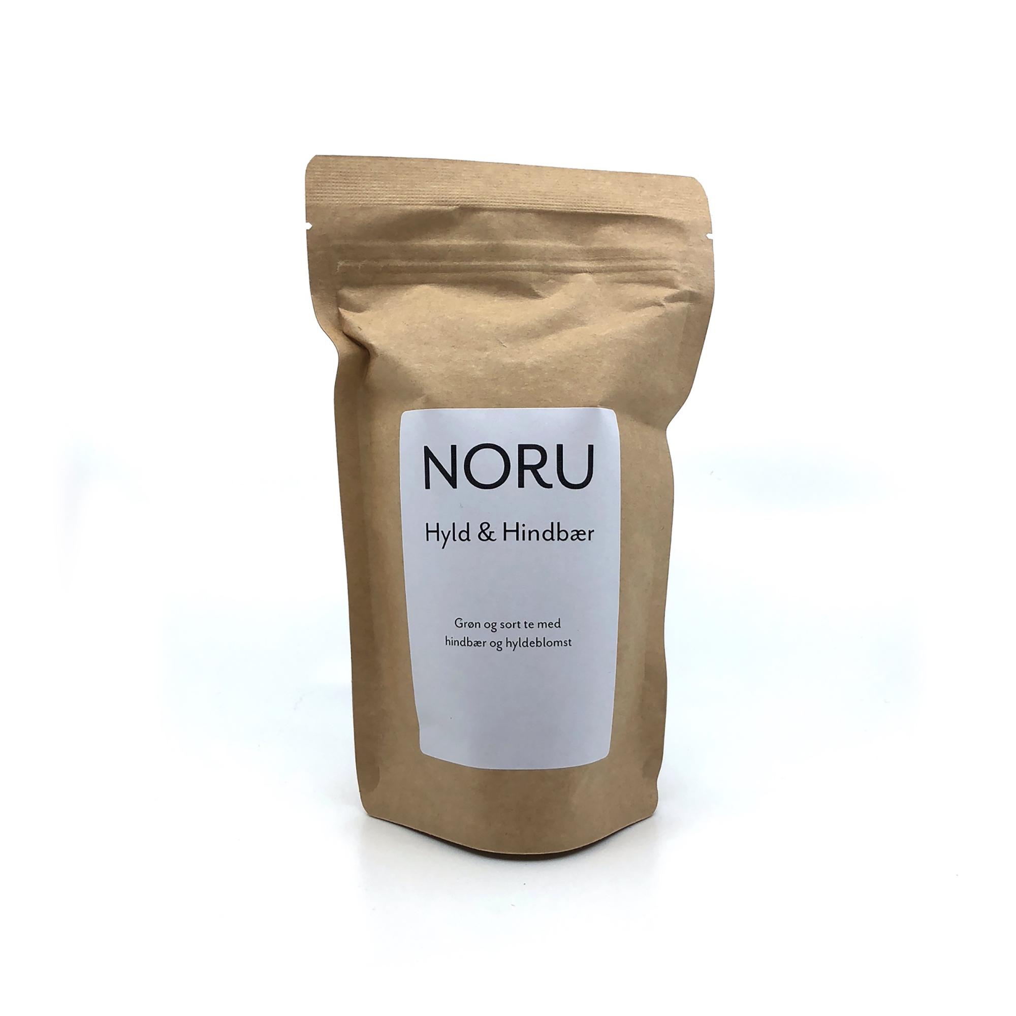 Billede af NORU, Hyld og Hindbær te, 100 gram
