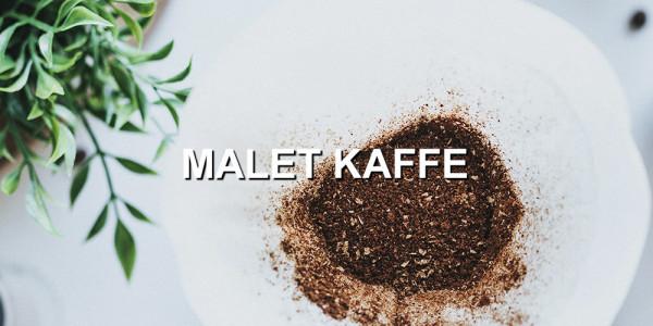 Malet kaffe